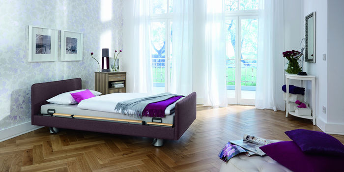 The new Venta care bed scores with its ease of use, comfort and homelike feel.
