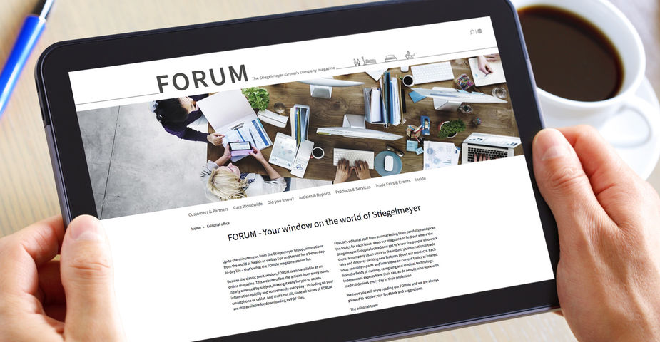 FORUM customer magazine