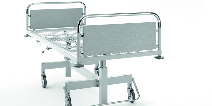 Development of the first height-adjustable lifting column bed. In the 1960s, Stiegelmeyer beds could already be cleaned in fully automated washing systems.