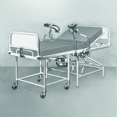 Stiegelmeyer achieves a leading market position. The maternity bed is a bestseller in the hospital sector.