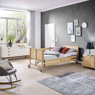 Burmeier introduces the new Dali range. Modern care beds promote digitisation in home care.